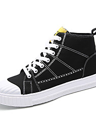 Brand Men's Trainers Fashion Sneakers Breathable Shoes Student Canvas Hight Top Shoes