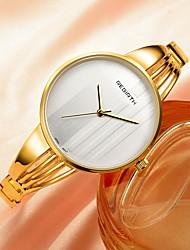 REBIRTH Dámské Módní hodinky Křemenný Slitina Kapela Stříbro Zlatá