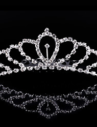 2017 New Princess Crown Crystal Rhinestone Diamond Bridal Crown Hair Comb Bridal Tiaras Girls&Kids Headwear Wedding Gifts