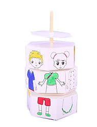 DIY KIT Paper Model Paper 6 Years Old and Above 3-6 years old