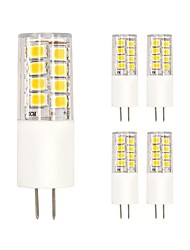 3W LED à Double Broches T 35 SMD 2835 220 lm Blanc Chaud Blanc Froid V 5 pièces