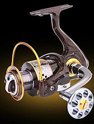 Fishing Reel Bearing Molinetes Rotativos 5.2:1 13 Rolamentos TrocávelPesca de Mar Pesca no Gelo Pesca de Água Doce Pesca de Isco Pesca