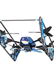 Dron WL Toys Q919-B 4 Canales 6 Ejes Con Cámara 2.0MP HD FPV Iluminación LED Auto-Despegue A Prueba De Fallos Quadcopter RC Mando A