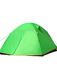 3-4 persons Tent Double Fold Tent One Room Camping Tent 2000-3000 mm Camping / Hiking Hunting Fishing Camping Traveling-