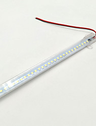 Barres de lumière rigides 24w 2200-2400 lm ac220 v 1 m 144 leds blanc chaud blanc froid