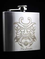 Personalized Stainless Steel  5-oz   Flask    Hip Flask