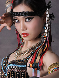Belly Dance Headpieces Women's Polyester Shell and Tassel(s) 1 Piece Nautical Bohemian Theme Fairies Holiday Headpieces