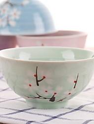 Chopsticks Set Home Japanese Handmade Creative Dish Tableware Student Couple Eating Bowl
