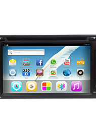Rungrace hot sale android6.0 6.2 2din автомобильный радиоприемник с dvd / wifi / gps / радио / bluetooth rl-257agn02