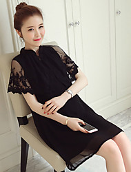 Maternity Summer Wear Fashionable National wind cheongsam Shawls long lace  Dress