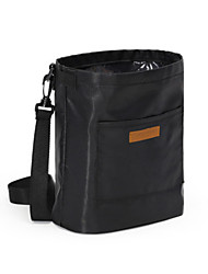 Unisex Bags All Seasons Nylon Storage Bag with for Casual Black