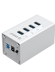 ORICO A3H4-BK USB3.0 4Ports 5Gbps 1mCable with MAC Interface HUB