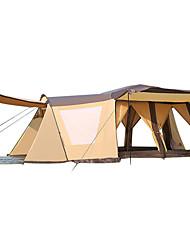 > 8 человек Двойная Автоматический тент Двухкомнатная Палатка 1500-2000 ммУльтрафиолетовая устойчивость Дожденепроницаемый