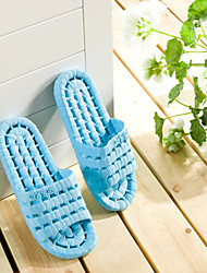 Women's Shoes PVC Flat Heel Slippers / Open Toe Slippers Casual Pink/ Blue