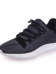 Femme Chaussures d'Athlétisme Confort Semelles Légères Tulle Automne Athlétique Décontracté Marche Confort Semelles Légères LacetTalon