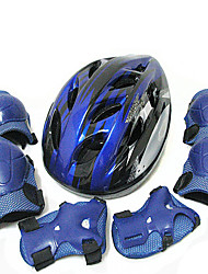 Skateboarding Protective Gear Seven Sets Of Children Roller Skating Roller Skates Helmet Skateboarding Bicycle Knee Knives