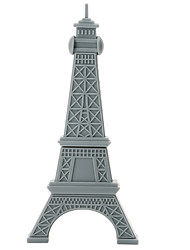 Cartoon plástico paris torre 64gb usb2.0 alta velocidade flash drive u disco memory stick