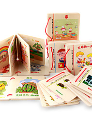 Reading Toys Wood 3-6 years old