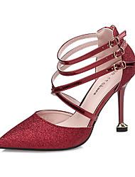 Femme Chaussures à Talons Confort Nouveauté Semelles Légères Similicuir Eté Automne Mariage Décontracté Habillé Soirée & EvénementConfort