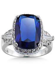 Damen Ringformen Bandringe Ring Kubikzirkonia Strass Imitation DiamantBasis Einzigartiges Design Strass Geometrisch Freundschaft Kreuz