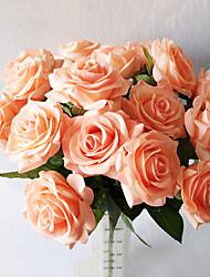 5 Une succursale Contact réel Roses Fleur de Table Fleurs artificielles