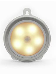 BRELONG Human Infrared Sensing Night Lamp LED 5 X 2835SMD White / Warm White 4.5V