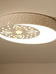 Montagem flush moderno / contemporâneo para led metal sala de estar quarto sala de jantar cozinha