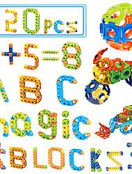 Blocos de Construir Brinquedo Educativo para presente Blocos de Construir Quadrada 6 anos e acima Brinquedos