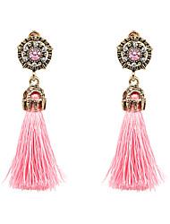 Mujer Pendientes colgantes Moda estilo de Bohemia joyería de disfraz Legierung Forma Redonda Joyas Para Fiesta