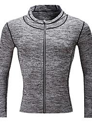 Men's Long Sleeve Running Sweatshirt Tops Running Autumn Winter Sports Wear Running/Jogging Tight