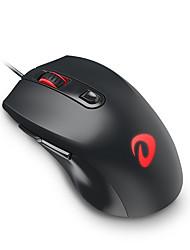 Dareu lm107 6keys 3200dpi usb светящаяся мышь игры с кабелем 150cm
