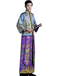 Outfits Cosplay Festival/Holiday Halloween Costumes Vintage Embroidered New Year Men's Polyster