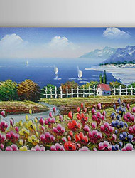 Hand-Painted  Impression Landscape by Knife  Oil Painting With Stretcher For Home Decoration Ready to Hang
