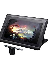 Wacom cintiq 13 hd gráfico desenho monitor 13,3 polegadas 5080 lpi 2048 nível pressão sence gráficos tablet