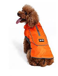 Собака Жилет Одежда для собак Косплей Праздник На каждый день Спорт Мода Хэллоуин Сплошной цвет Черный Оранжевый