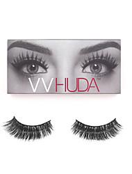 VVHUDA LASHES Fake Eyelashes False Mink Eyes Lash Handmade Black Long Thick Charming Daily Party Makeup Lady Beauty Naomi