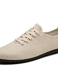 Men's Fashion Casual Shoes Breathable Linen Shoes
