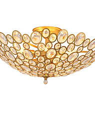 Lightmyself 9 luci d'oro moderno cristallo soffitto lampada interni luci per soggiorno camera da letto sala da pranzo