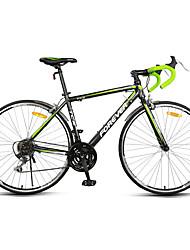 Bikes Cruiser Ciclismo 21 velocidade 26 polegadas/700CC Shimano Freio em V Sem Amortecedor Quadro de Liga de AlumínioComum