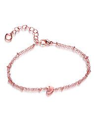 Femme Chaînes & Bracelets Charmes pour Bracelets Bijoux Amitié Mode Forme de Cercle Forme de Coeur Bijoux PourSoirée Autre Vêtements de