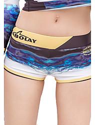 SABOLAY Femme Pantalon de Combinaison Anti Irritation La navigation de plaisance Résistant aux ultraviolets Elasthanne Térylène Tactel