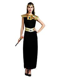 Une Pièce/Robes Reine Costumes égyptiens Cosplay Fête / Célébration Déguisement d'Halloween RétroRobes Ceinture de Tour de Taille Tour de