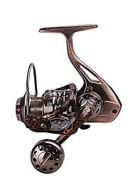 Carrete de la pesca Carretes para pesca spinning Carrete para pez carpa Carrete para pesca en hielo 5.2:1;4.9:1 13 Rodamientos de bolas