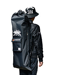 Waterproof Skateboard Backpack Skateboarding Dust Proof Back Pocket Polyurethanes High Density Ripstop