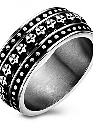 Ring Settings Band Rings Women's Men's Euramerican Luxury Elegant Black Business Party Movie Gift Jewelry