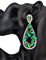 Women's Drop Earrings Rhinestone AcrylicBasic Unique Design Pendant Rhinestones Friendship Durable Africa Sexy Simple Style Bikini USA