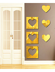 Love The Creative Combination Specular Adornment Wall Stickers