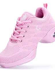 Damen Modern Tüll Sneakers Training Blockabsatz Weiß Schwarz Rosa 2,5 - 4,5 cm Maßfertigung