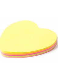 Heart-Shaped Sticky Note