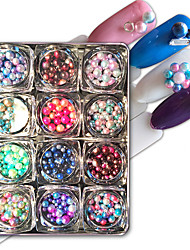 12 PCS Candy Ball Nail Stick Suit